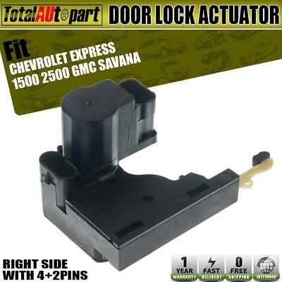 For GMC Chevrolet Silverado Cadillac Buick Right Side Door Lock Actuator New