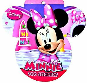 Disney-Minnie-Mouse-Daisy-Duck-300-Sticker-Book-Ages-3-Fun-Stickers-8-Pages