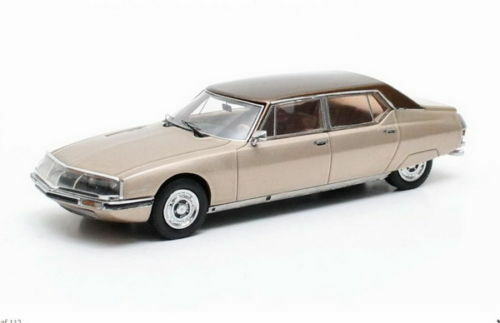 Citroen SM Le Opera by Chapron gold 1972 Matrix 1:43 MX10304-011