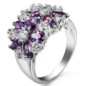Women-Noble-Size6-10-Jewelry-Amethyst-Ring-Wedding-Fashion