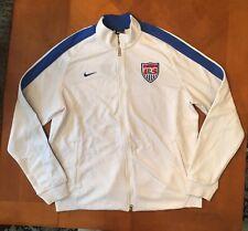 New Nike Mens N98 $100 FIFA World Cup USA USMNT Soccer Track Jacket White Sz XL
