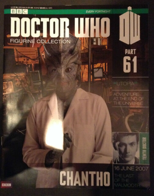 Doctor Who - Figurine Collection - issue 61 - Chantho (MAGAZINE ONLY)