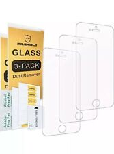 Screen Protectors 3-pack-mr Shield for iPhone SE 5/5s 5c Tempered Glass With