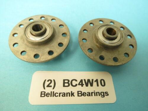 2 ea New Fafnir BC4W10 Bellcrank Bearings .250 I.D Beech Cessna Piper Aircraft