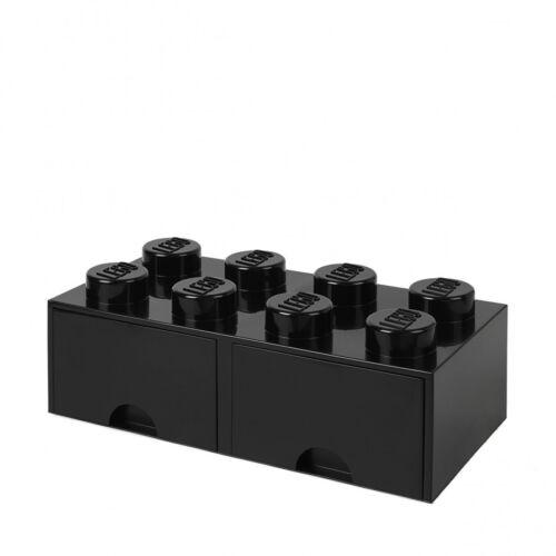 LEGO Storage Brick Drawer 8 NERO BLACK