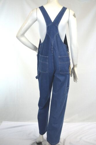 Lady RURACO jeans denim bib overalls  Classic Size XS-XXL inseam 30-33
