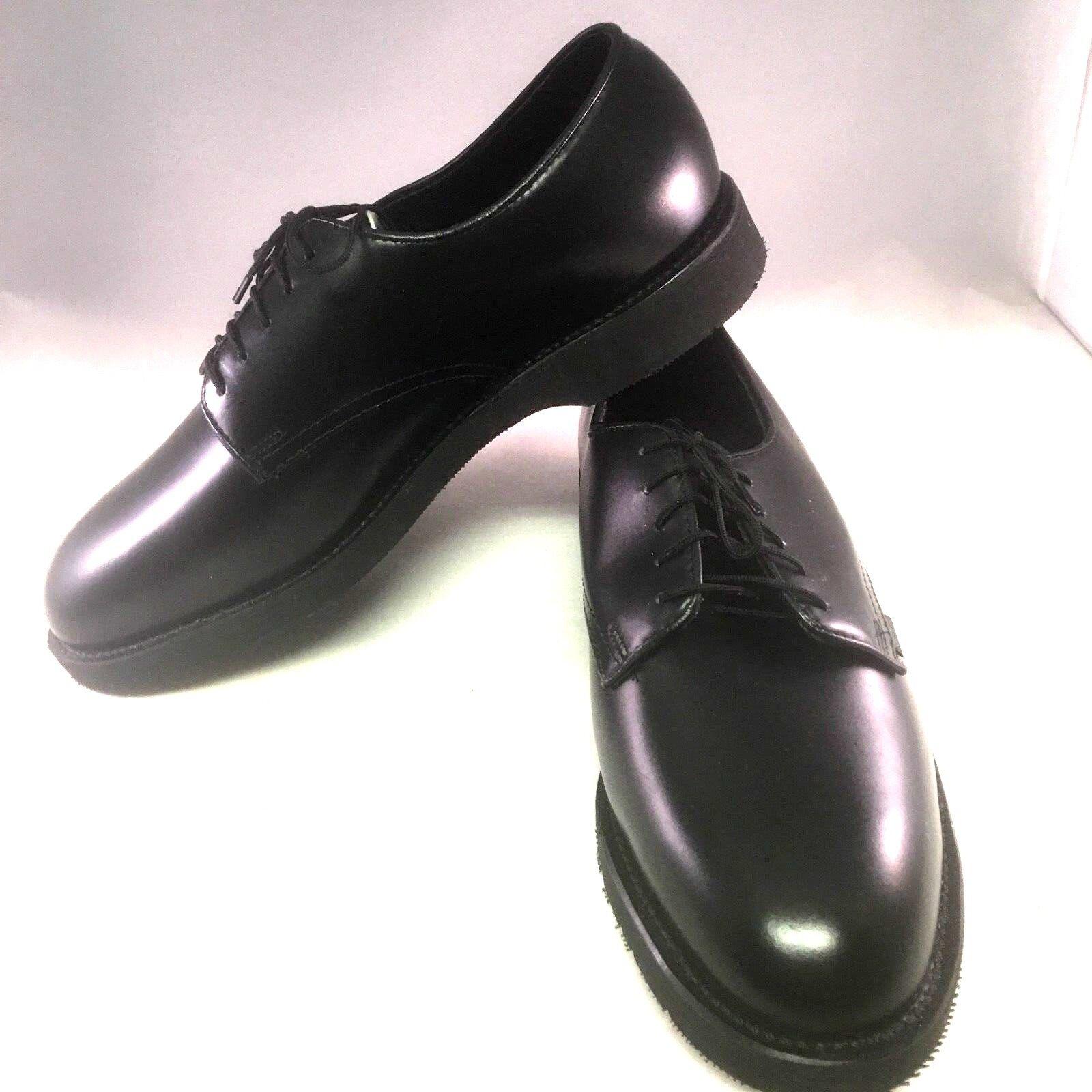risposta prima volta Thorogood 8.5 XW nero Uomo Leather Leather Leather Classic Oxfords  migliore offerta