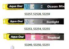 "Aqua One A1-53255 LED Tube (T8 Repl.) Sunlight 18W 48"" 120cm For All Fish Tanks"