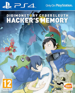 Digimon-Story-Cyber-su-faire-Hacker-039-s-Memory-PS4-Neuf-Scelle-PAL