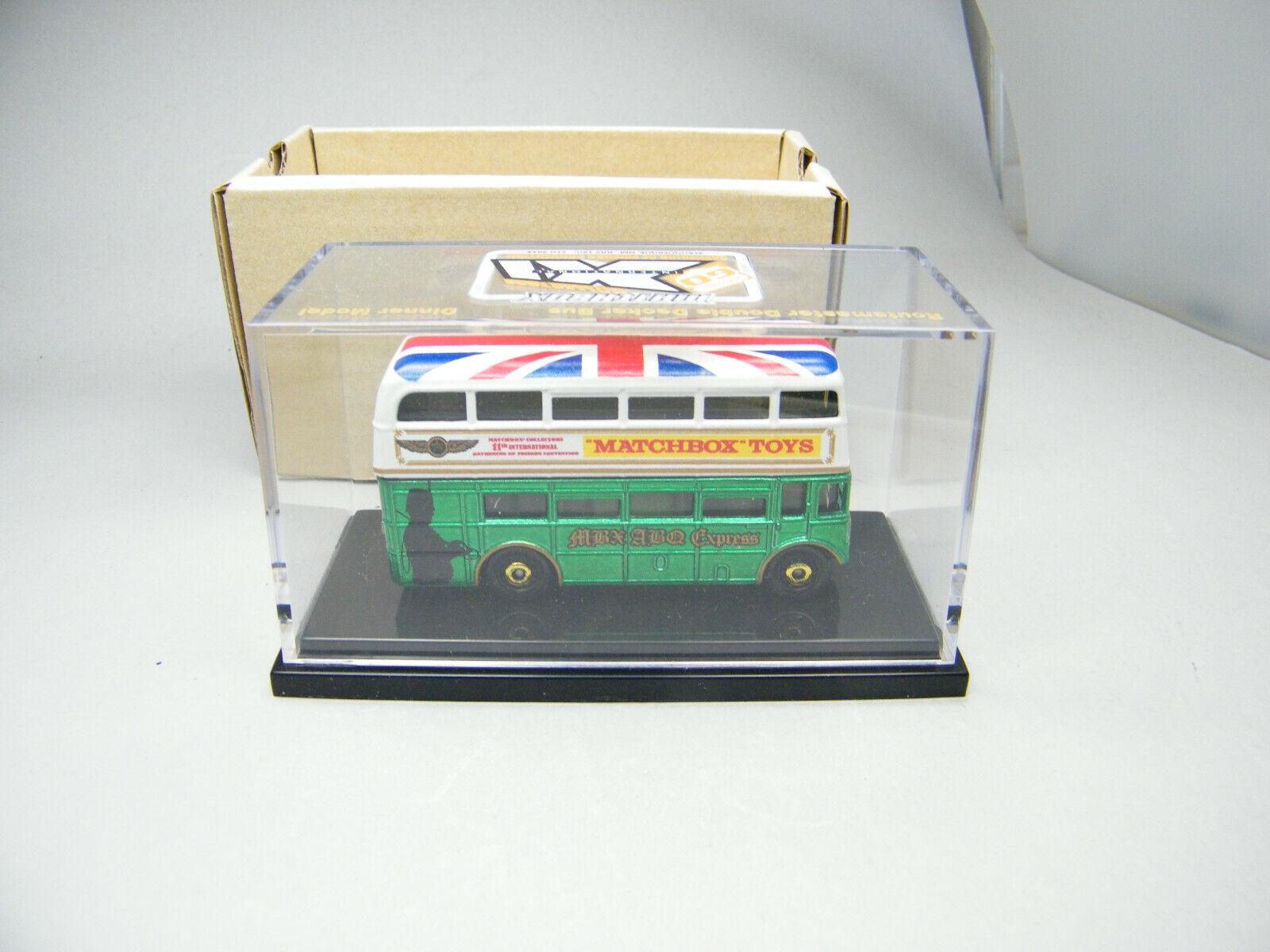 tienda de ventas outlet Matchbox Albuquerque mcch London London London biplano-bus verde 2013-muy buscada   hasta un 60% de descuento