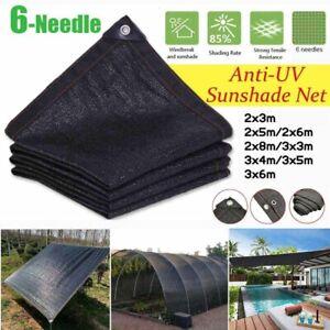 Outdoor Sunshade Net Anti-UV Sunblock Shade Net Plant Car Cover Garden Sunscreen