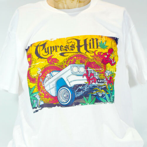 CYPRESS HILL HIP HOP PUNK ROCK T-SHIRT wu-tang clan public enemy S-3XL