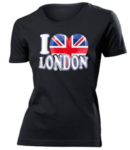 I LOVE LONDON T-Shirt Damen S-XXL