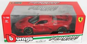 1:18 FERRARI FXX K EVOLUZIONE Hybrid 6.3 V12 1050hp model road car BURAGO 16012