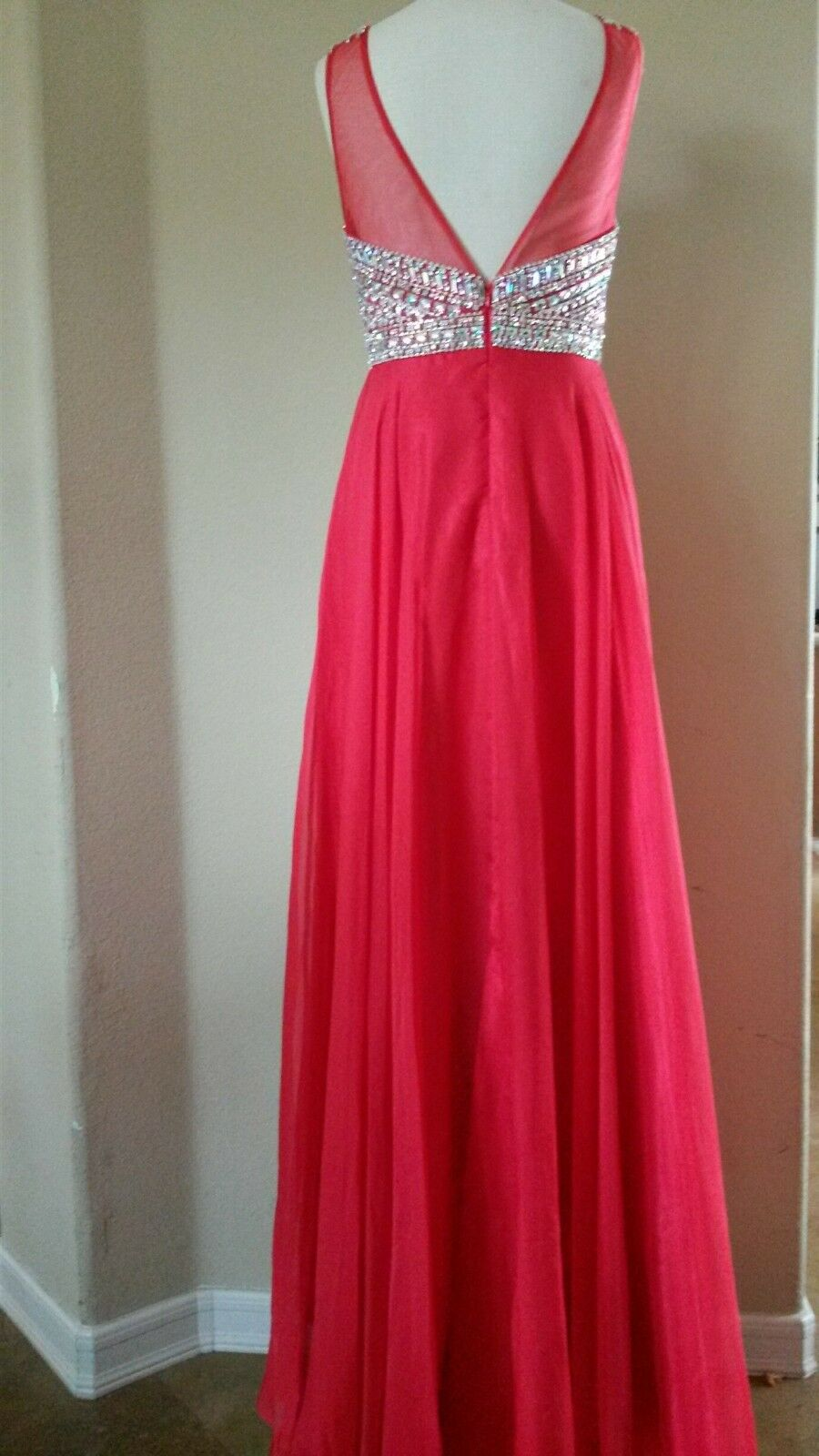 Royal Queen RQ7185 RQ7185 RQ7185 Red Size 8-FULL LENGTH-Prom-Military ball-Homecoming 5af2a6