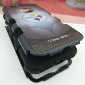 Pittsburgh-Steelers-Hybrid-Hard-Rugged-Armor-Case-for-iPhone-5-5s-SE-6-6s-7-Plus
