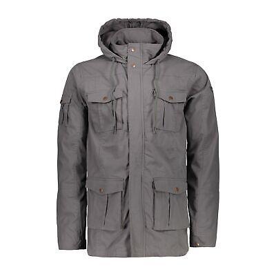 Funzione Cmp Giacca Giacca Man Jacket Fix Hood Marrone Resistente All'acqua Elastici-d Elastisch It-it Mostra Il Titolo Originale