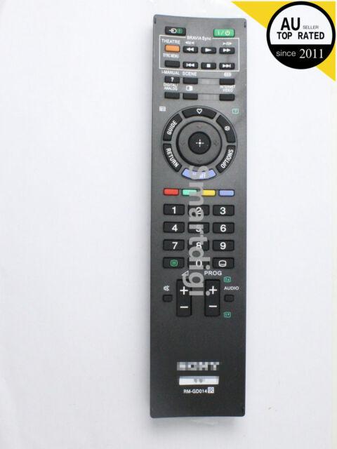 REMOTE CONTROL FOR SONY TV RM-GD005 KDL40Z4500 KDL46Z4500 KDL52Z4500 RM-GD014