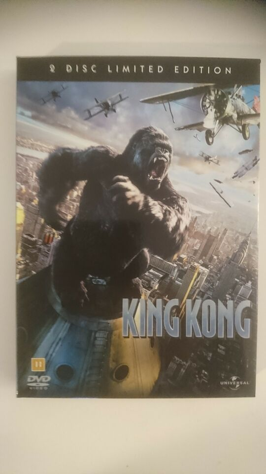 KING KONG (Limited Edtion i Velourboks), instruktør Peter