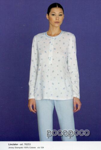 Pyjamas À Linclalor Serafino 76253 Longues 76254 En Manches Coton Article HqddY51