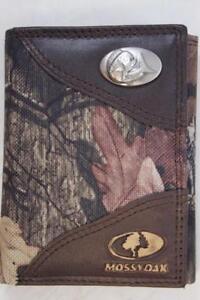 ZEP-PRO Tennessee Volunteers  MOSSY OAK Camo Wallet TIN GIFT BOX