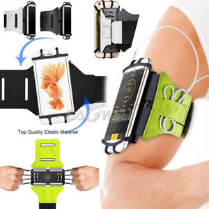 best sneakers 6be62 30ed9 Details about AU Rotating Sports Running Jogging Gym Armband Arm Band  mobile phone Case Holder