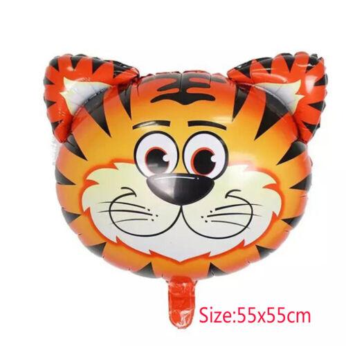Jungle Animal Aluminium Foil Air Helium Balloon Birthday Party Decor Balloons