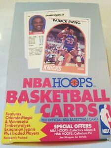 Verzamelkaarten, ruilkaarten 1989-90 NBA Hoops Series 2 Update Basketball Box