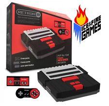 New Retron 2 System - Nintendo NES & Super Nintendo SNES -- BLACK / RED