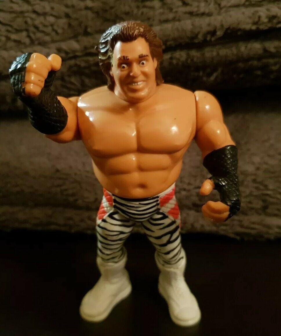 WWF WWE Hasbro Brutus Brutus The Barber Beefcake Figure Rare Retro wwe legend