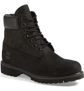 10073-TIMBERLAND-6-034-Premium-Black-Waterproof-Boots-NEW