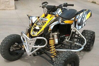Can Am Ds 450 >> Can Am Ds450 Graphics Ds 450 Custom Racing Sticker Kit 7777 Yellow Ebay