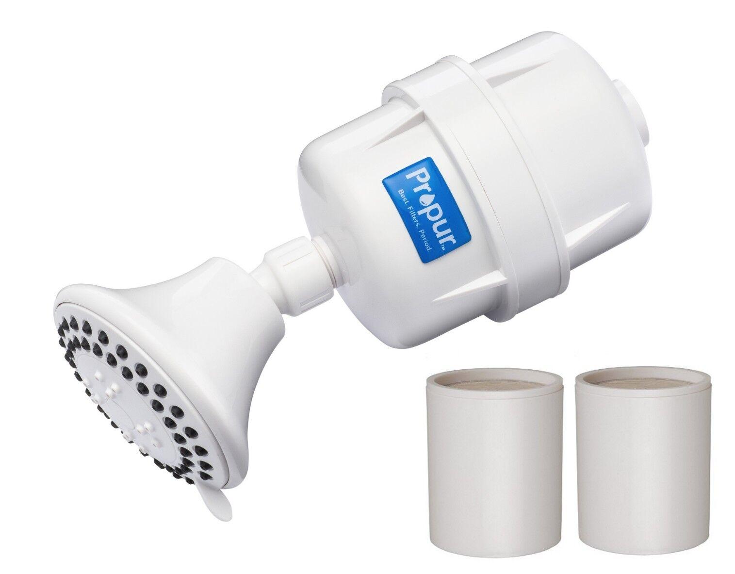 Propur ProMax Douche Filtre avec massage tête + with additional Promax élément de filtre