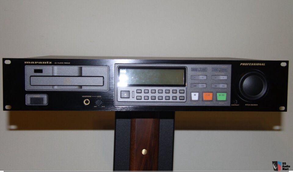 CD afspiller, Marantz, PMD 340
