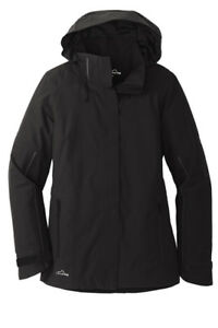 d3e986587 Details about Eddie Bauer® Ladies WeatherEdge® Plus Insulated Jacket BLACK  EB555 FREE SHIP NEW