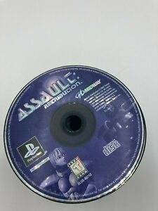 Sony PlayStation 1 PS1 PSX Disc Only Resurfaced Assault Retribution Black Label