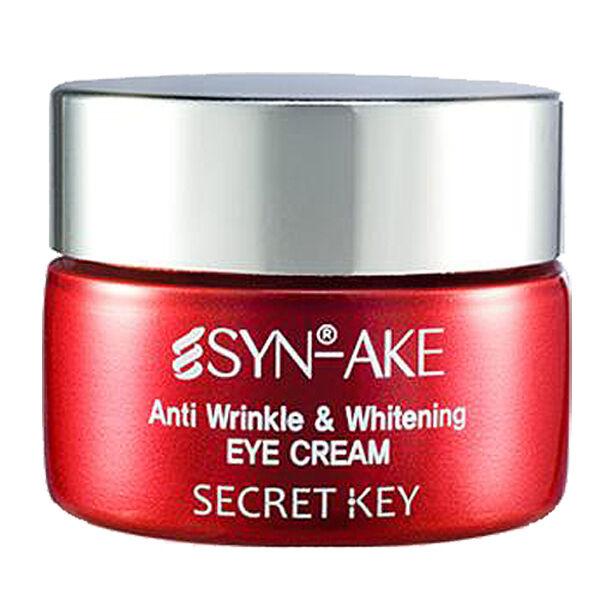 [Secret Key] Syn Ake Anti Wrinkle & Whitening Eye Cream - 15g