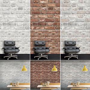3D-Brick-Effect-Wallpaper-Slate-Stone-Realistic-Textured-Vinyl-Vintage-Grandeco