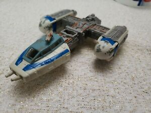 Star Wars Action Fleet Rebel Y WING Starship Fast Shipping