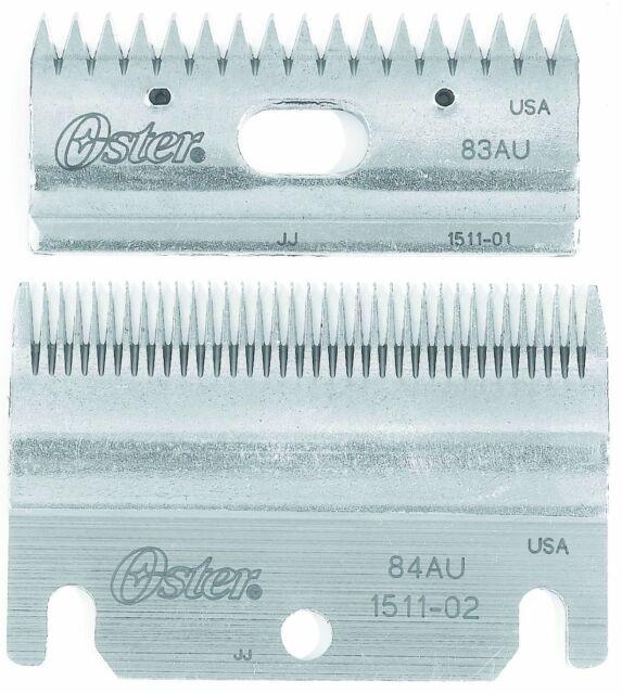 Oster Clipmaster Stewart Clipper Blade Combo Set Pack 83AU/84AU 78511-126