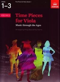 Temperate Time Pieces For Viola Vol 1 Bass/harris Viola/pf* Instruction Books, Cds & Video Musical Instruments & Gear