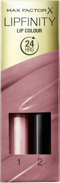 MAX FACTOR LIPFINITY 2 STEP LIP COLOUR 003 MELLOW ROSE