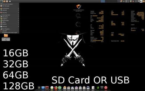 Kodachi Linux USB Flash Drive SD CARD 16GB 32GB 64GB 128GB ttdtdd Privacy