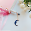 Blue Starry Sky Star Moon Pendant Gel Ink Pen Student Pen Stationary Writing