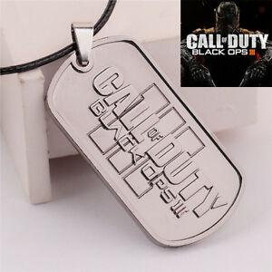 Hot-Call-of-Duty-Ghosts-Black-Ops-III-Choker-Necklace-Pendant-Dog-Tag-Jewelry