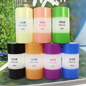 Travel-Plastic-Empty-Shampoo-Skin-Bath-Cream-Storage-Bottle-Container-Set-H-amp-T