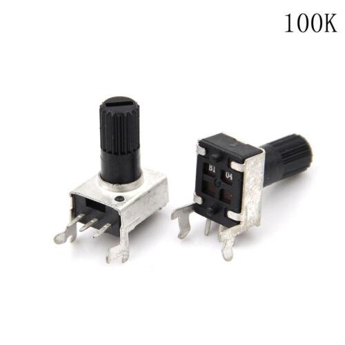 10pcs RV09 Art vertikales justierbares Potentiometer//variabler Widerstand5-10 ZP