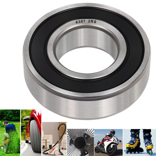 Details about  /4Pcs 6307-2RS Double Rubber Seal Bearings 35x80x21mm Premium Bearing Steel