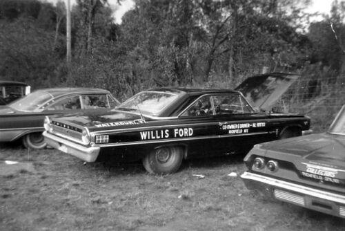 AL KITT WILLIS FORD 1963 Galaxie 500 1//25th 1//24th Scale Decals NHRA Drag