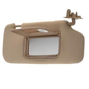 OEM NEW Front Passenger Sun Visor Shade w Mirror Cashmere 08-10 Vue ... e4b4d7fda4d